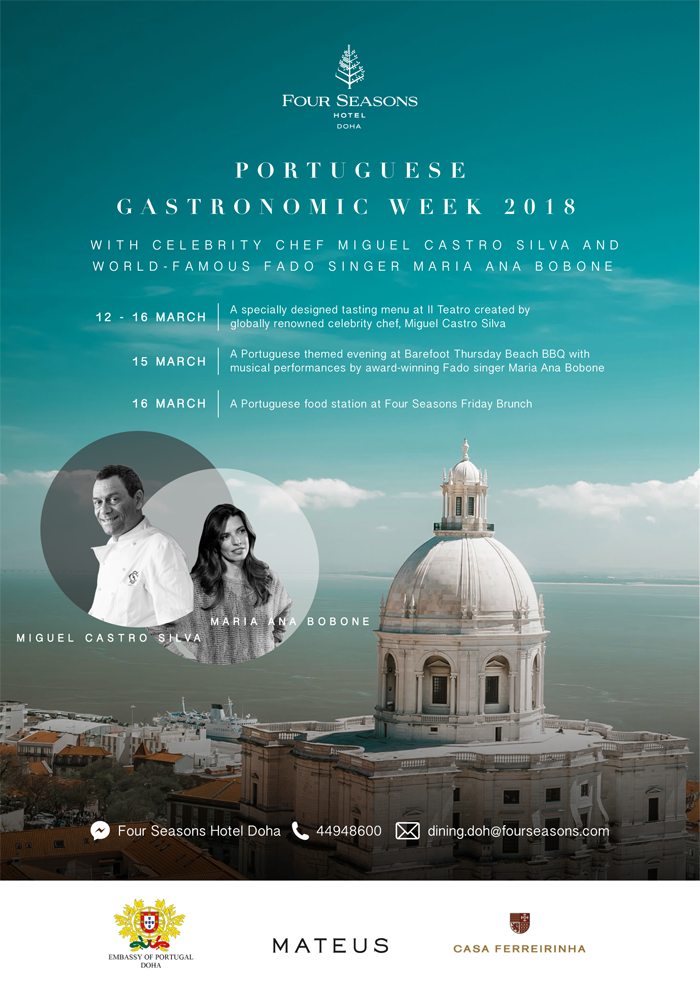 Portuguese Gastronomic Week flyer