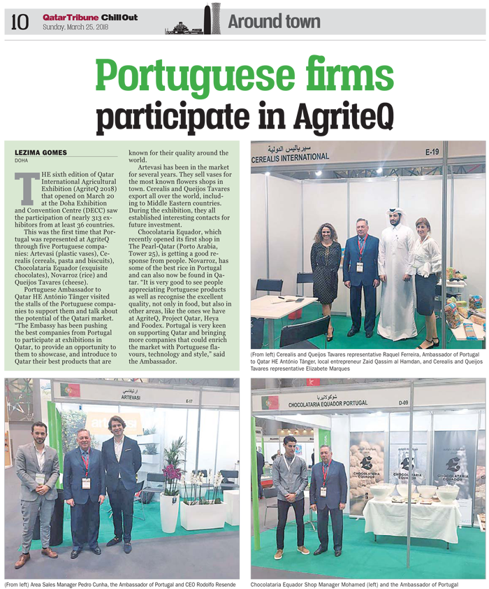 portuguese companies agriteq 2018